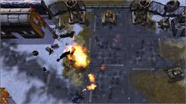 In game image of Assault Heroes 2 on the Microsoft Xbox 360.