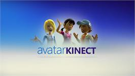 In game image of Avatar Kinect on the Microsoft Xbox 360.