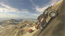In game image of BAJA: Edge of Control on the Microsoft Xbox 360.