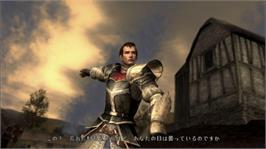 In game image of BLADESTORM on the Microsoft Xbox 360.