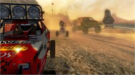 In game image of Baja 1000 on the Microsoft Xbox 360.