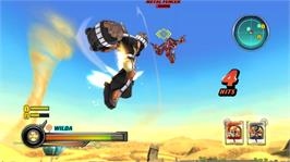 In game image of Bakugan: DOTC on the Microsoft Xbox 360.
