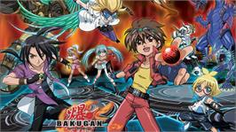 In game image of Bakugan on the Microsoft Xbox 360.