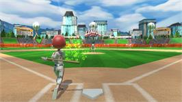 In game image of Big League Sports on the Microsoft Xbox 360.