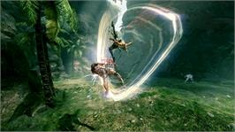 In game image of Blades of Time on the Microsoft Xbox 360.