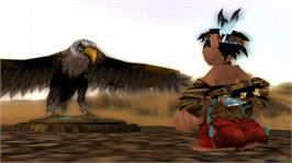 In game image of Brave- Warrior's Tale on the Microsoft Xbox 360.