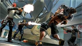 In game image of Brink on the Microsoft Xbox 360.