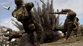 In game image of Brothers in Arms: HH on the Microsoft Xbox 360.