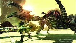 In game image of CLASH OF THE TITANS on the Microsoft Xbox 360.