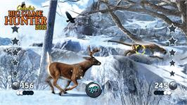 In game image of Cabela's Big Game Hunter 2012 on the Microsoft Xbox 360.