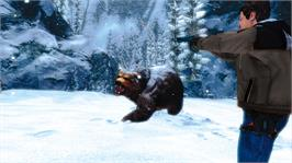 In game image of Cabela's Survival: SoK on the Microsoft Xbox 360.