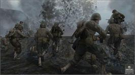 In game image of Call of Duty® 2 on the Microsoft Xbox 360.