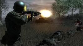 In game image of Call of Duty® 3 on the Microsoft Xbox 360.