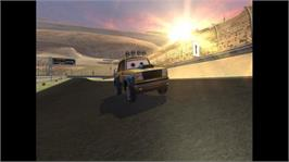 In game image of Cars: Mater-National on the Microsoft Xbox 360.