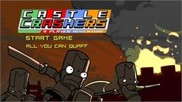 In game image of Castle Crashers on the Microsoft Xbox 360.