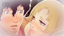 In game image of Catherine on the Microsoft Xbox 360.