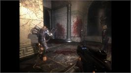 In game image of Clive Barker's Jericho on the Microsoft Xbox 360.