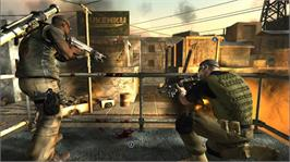 In game image of Conflict: Denied Ops on the Microsoft Xbox 360.