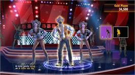 In game image of Country Dance All Stars on the Microsoft Xbox 360.