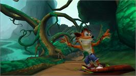 In game image of Crash Of The Titans on the Microsoft Xbox 360.