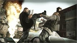 In game image of DEF JAM: ICON on the Microsoft Xbox 360.