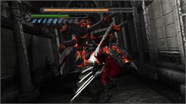 In game image of DMC HD Collection on the Microsoft Xbox 360.