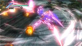 In game image of DW: Gundam 3 on the Microsoft Xbox 360.