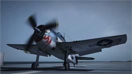 In game image of Damage Inc. - Pacific Squadron WWII on the Microsoft Xbox 360.