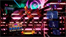 In game image of Dance Central on the Microsoft Xbox 360.