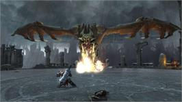 In game image of Darksiders on the Microsoft Xbox 360.