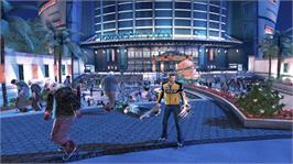 In game image of Dead Rising 2 on the Microsoft Xbox 360.