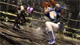 In game image of Dead or Alive 5 on the Microsoft Xbox 360.