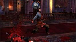 In game image of Deadliest Warrior: Legends on the Microsoft Xbox 360.