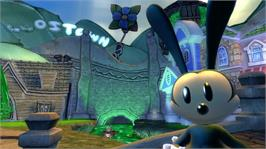 In game image of Disney Epic Mickey 2: The Power of Two on the Microsoft Xbox 360.