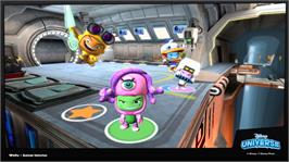 In game image of Disney Universe on the Microsoft Xbox 360.