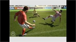 In game image of FIFA 06 RTFWC on the Microsoft Xbox 360.