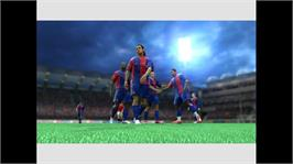 In game image of FIFA 07 on the Microsoft Xbox 360.