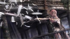 In game image of FINAL FANTASY XIII-2 on the Microsoft Xbox 360.