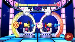 In game image of Family Game Night 4: The Game Show on the Microsoft Xbox 360.