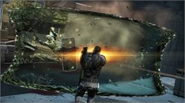 In game image of Fuse on the Microsoft Xbox 360.