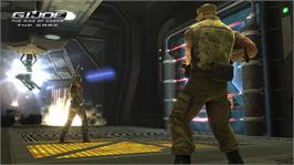 In game image of G.I. JOE on the Microsoft Xbox 360.