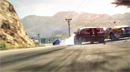 In game image of GRID 2 on the Microsoft Xbox 360.