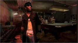 In game image of GTA IV on the Microsoft Xbox 360.