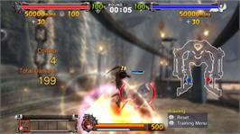 In game image of GUILTY GEAR 2 on the Microsoft Xbox 360.