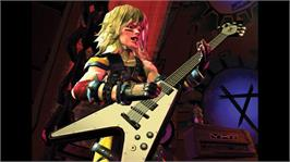 In game image of Guitar Hero II on the Microsoft Xbox 360.