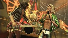 In game image of Guitar Hero Van Halen on the Microsoft Xbox 360.