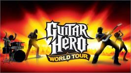 In game image of Guitar Hero World Tour on the Microsoft Xbox 360.