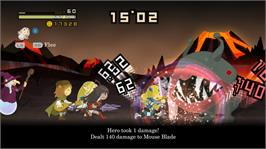 In game image of HALF-MINUTE HERO -Super Mega Neo Climax- on the Microsoft Xbox 360.
