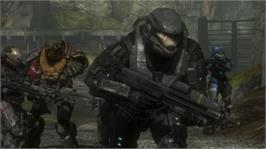 In game image of Halo: Reach on the Microsoft Xbox 360.