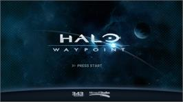 In game image of Halo Waypoint on the Microsoft Xbox 360.